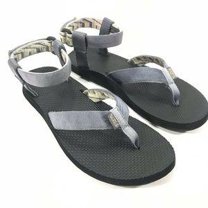 Teva Original Textile Toe Post Ankle Strap Sandals